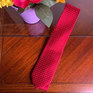 Men's Izod Dotted 100% Silk Necktie